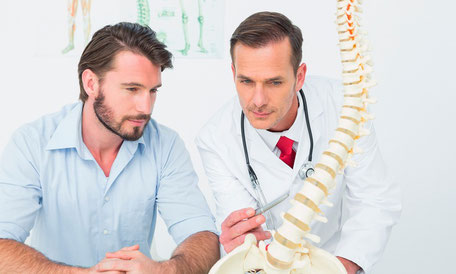 Chiropractic exam and adjustment by chiropractor in Nixa Missouri