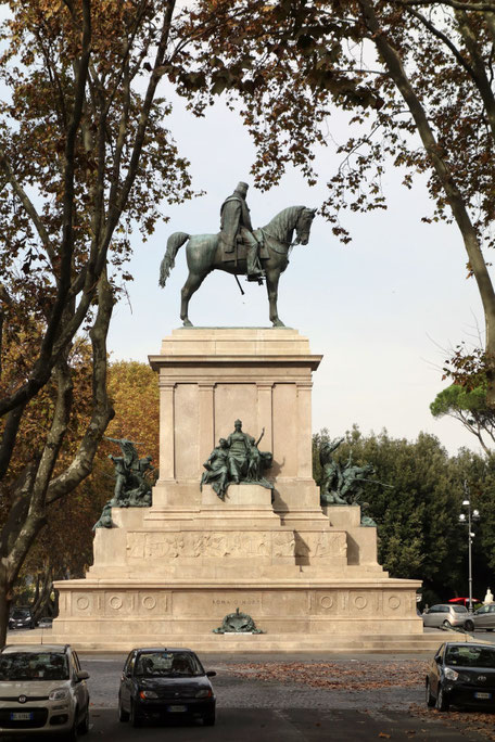 Rom - Gianicolo, Garibaldi-Denkmal
