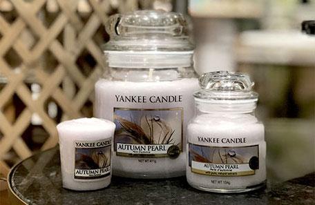 Jarres moyennes bougies Yankee - commande en ligne