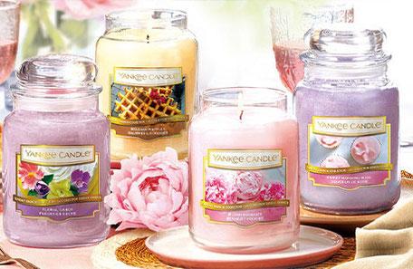 Grandes jarres bougies Yankee - commande en ligne