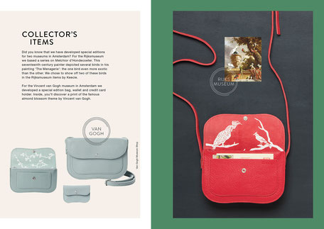 Book design and Art direction by Marijke Lucas - Lucas & Lucas for Dutch bags and accessories label Keecie - SPECIAL EDITIONS
