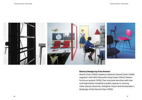 Art direction and book design by Marijke Lucas - Lucas & Lucas, for Ahrend and HAY - Chapter: Masters of Design - Friso Kramer