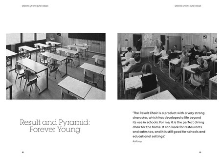 Art direction and book design by Marijke Lucas - Lucas & Lucas, for Ahrend and HAY - Result and Pyramid: Forever Young