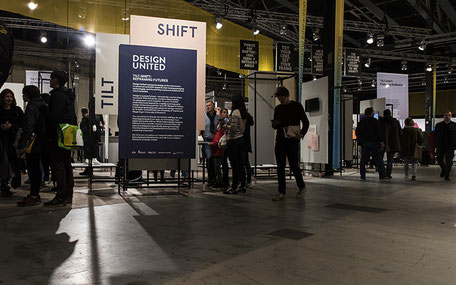 exhibition design for DESIGN UNITED / 4TU: TILT-SHIFT - Reframing Futures / Dutch Design Week 2019