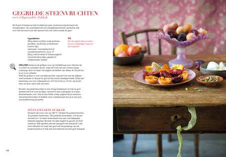 Book design and illustrations by Marijke Lucas - Lucas & Lucas for TERRA - Spread from the chapter DESSERT