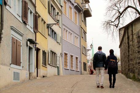 Zürich Tour Stadtführungen: Liebesgeschichten