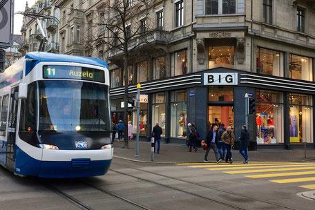 Zürich Tour Stadtführungen: Tramtour