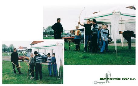 Foto-Projekttage in der Schule - BSV Merkwitz