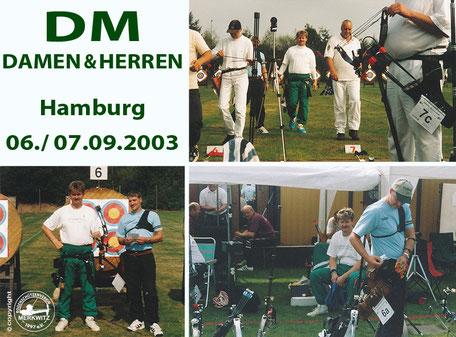 Bogensportler aus Merkwitz bei der DM Damen und Herren in Hamburg