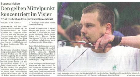 Der BSV Merkwitz 1997 e.V. als Ausrichter für die LM FITA in Merkwitz