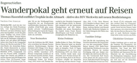 4. Heidewanderpokal in Merkwitz