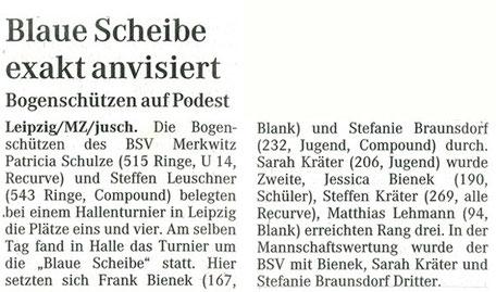 Artikel BSV Merkwitz