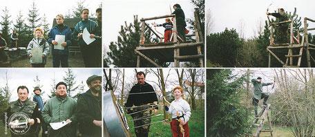 Foto - Turnier am Krähenberg 2001 - BSV Merkwitz 1997 e.V.