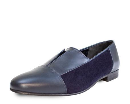 Suede Shoe Blue