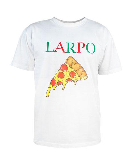 White T-Shirt Pizza