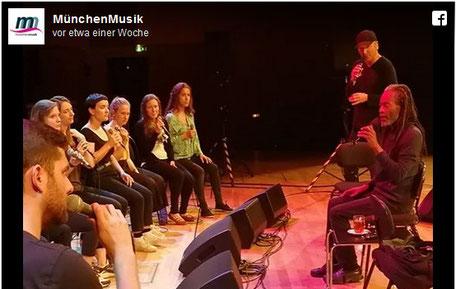 ©MünchenMusik / Facebook. Gasteig, Philharmonie, 17.05.2018
