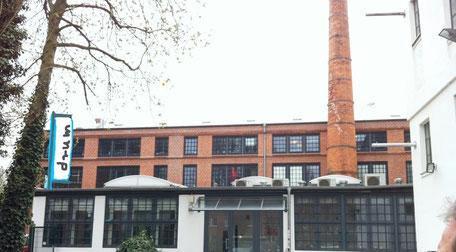 Das Gebäude der Musikschule ohr M in Hamburg Altona Bahrenfeld