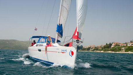 Flottillen Sunsail Segelgebiet Kroatien