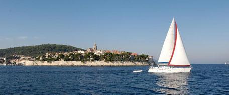 Sunsail Flottille an der Adria, Agana Marina und Dubrovnik mit Flottillenskipper