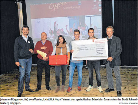 Gymnasium Schmallenberg, Schüler helfen Schüler, Patenschaft