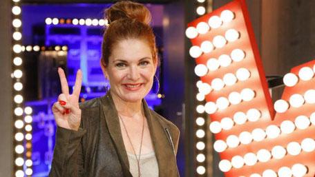 Sängerin und Schauspielerin Chantal Dorn. (c) Sat1