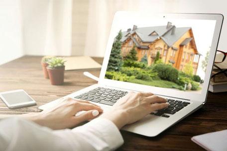 Immobilien Haus Grundstück Wohnung