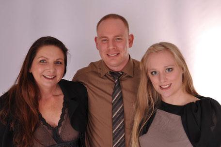 Familienbetrieb Lust Blechwaren: Geschäftsführung Frau Petra Meng, Produktionsleitung Herr Christian Meng, Marketing Frau Anna Brown
