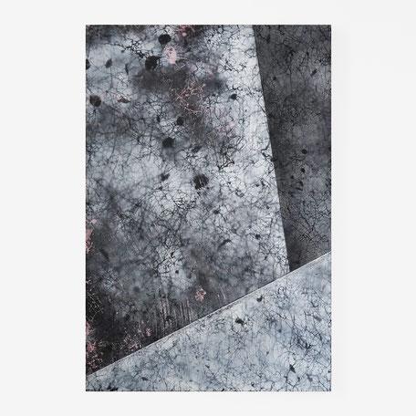 Katharina Lehmann, Floating Spaces No2, 60 x 40 cm, 2020 · Acrylic on wood