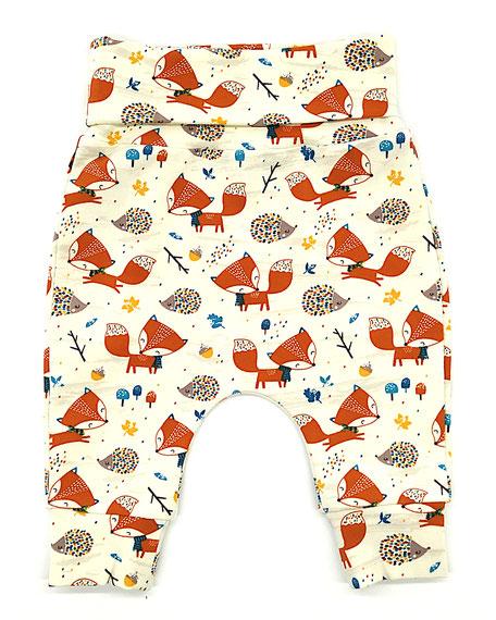 Hapitime Bio Kinder Haremhose handmade Fuchs