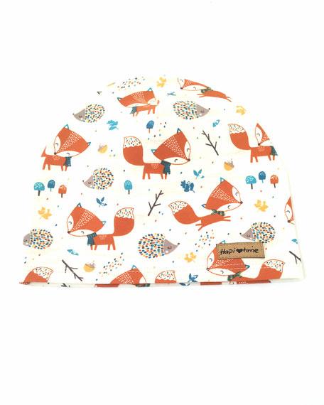 Hapitime Bio Kindermütze handmade Fuchs