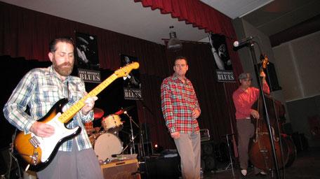 Nico, San Pedro et Abdel.