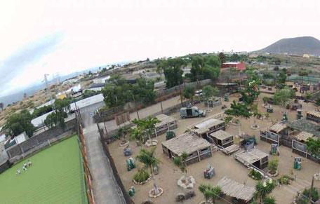 instalaciones de bubble futbol en Tenerife