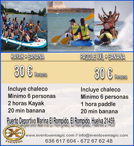 pack actividades Huelva
