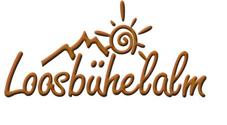 Logo der Loosbühelalm in Großarl