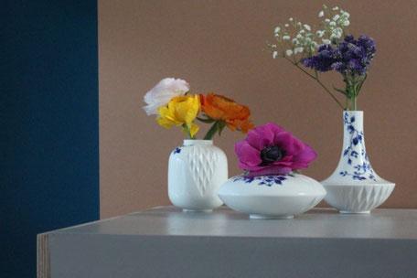 Bijzondere vazen en bakjes voor bloemen en planten