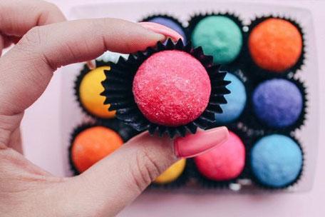 Happy Truffels Chocolade: verrassend en kleurrijk
