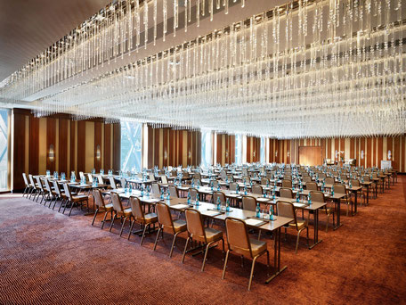 Crystal Ballroom of Jumeirah Frankfurt