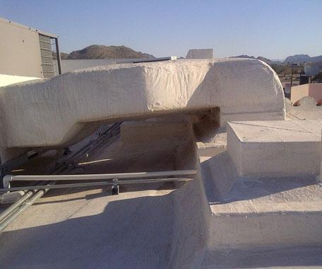 Protección impermeabilizante para equipos. Gummer Metal Hermosillo.
