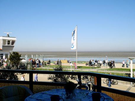 Ferienwohnung Cuxhaven mit Meerblick
