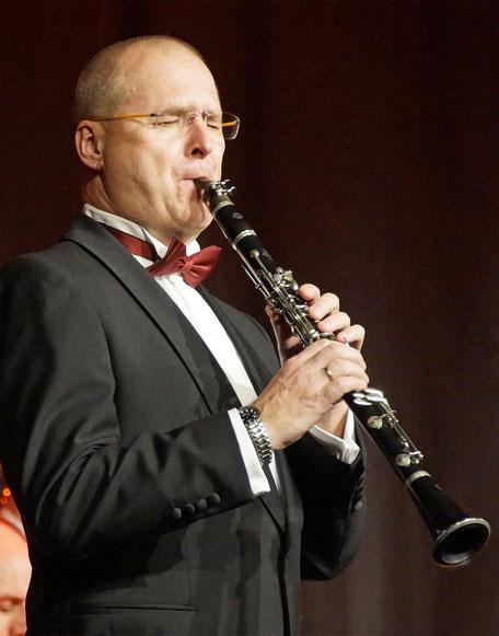 Engelbert Wrobel Solo-Clarinet, Benny Goodman Spezialist