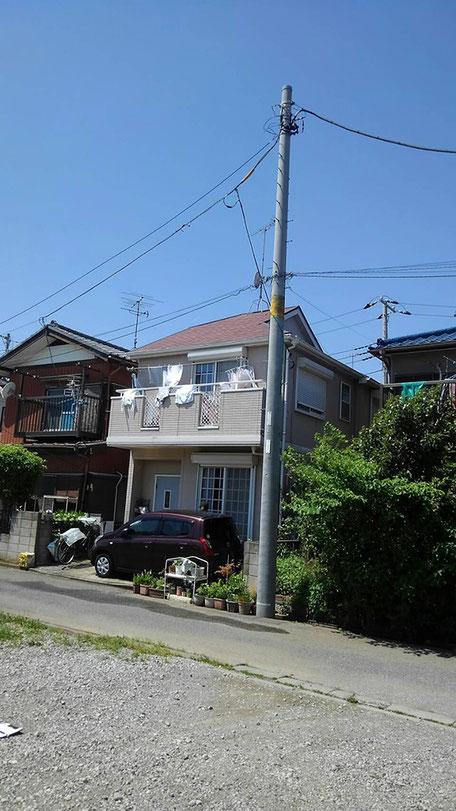 千葉県鎌ケ谷市 外層塗装工事前