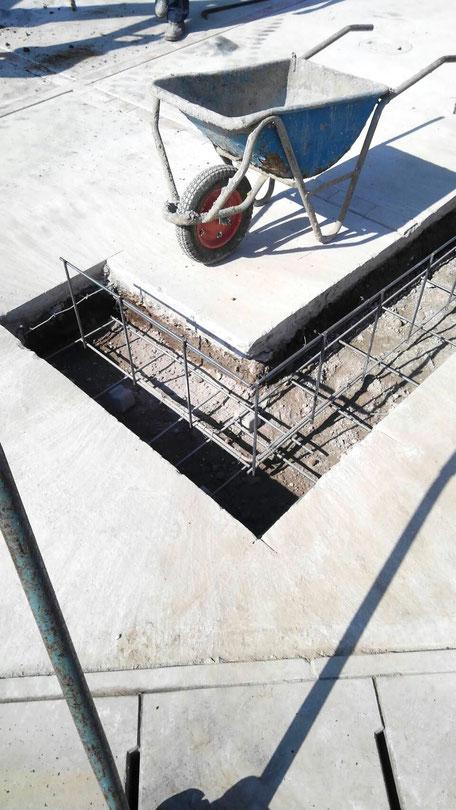 駐車場に車庫を建てる2