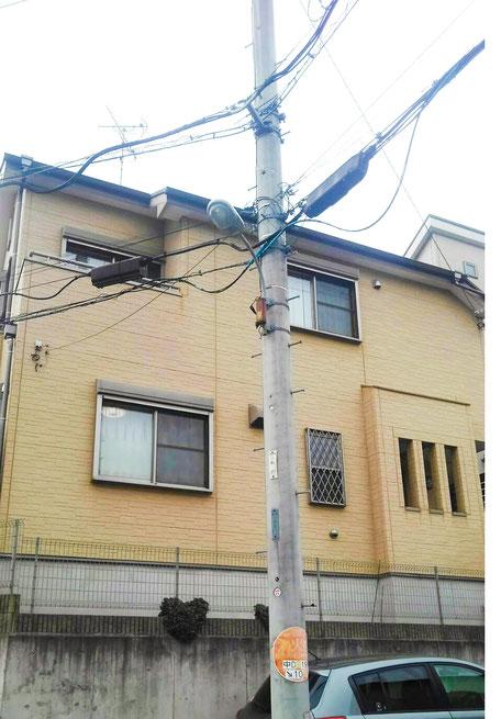 千葉県鎌ヶ谷市 外壁塗装前
