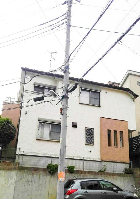 千葉県鎌ヶ谷市 外壁塗装後