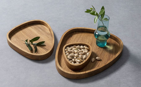 Schale | Tabletts | Pizza © Macani WOODDESIGN