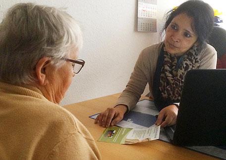 Finanzierungsberatung Tagespflege Seedorf mit Geschäftsführerin Sahnaj Arshad