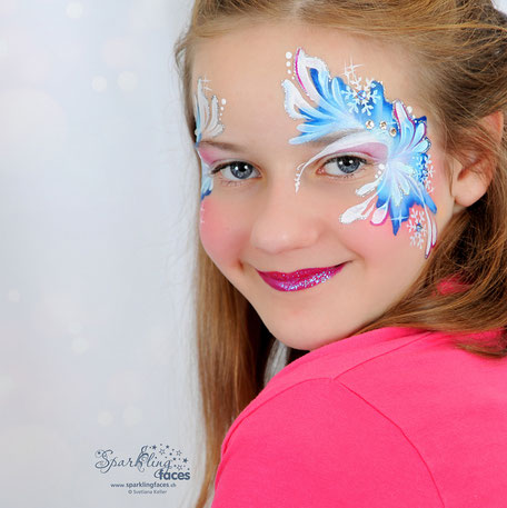 Kinderschminken_Vorlagen; Schminkfarben_kaufen_Schweiz; Kinderschminken_Kurse; einfach; Mädchen
