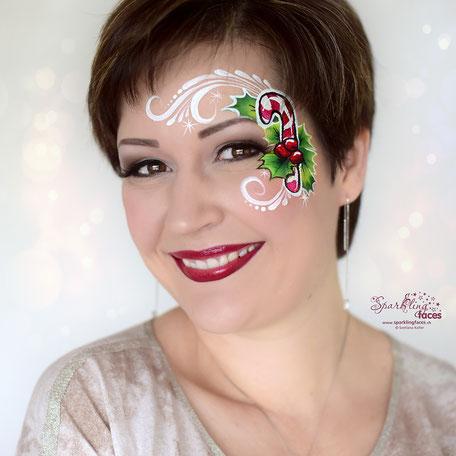 Kinderschminken_Vorlagen; Schminkfarben_kaufen_Schweiz; Kinderschminken_Kurse; einfach; Weihnachten
