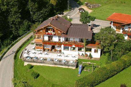 Berggasthof Hummelei in Oberaudorf auf 660 Meter