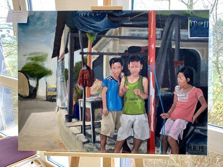 Kinder in Kamboscha